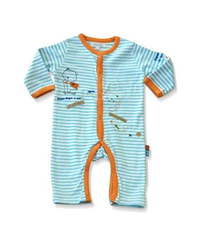 Pitter Patter Baby Gifts Pelele Azul