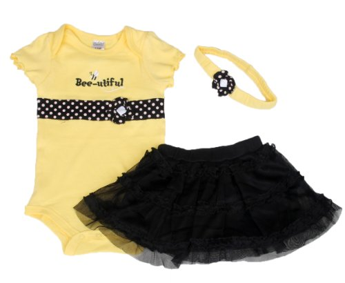 Baby Butterfly Headdress & Baby Boy'S Girl'S Dress Suits Romper Type Ysqh6324(6-9Month) front-108984