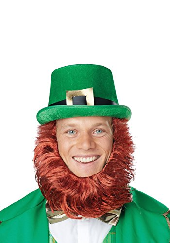 Irish Leprechaun Hat & Beard Getup
