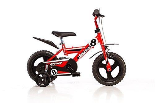 12-Zoll-MTB-123GLN-Kinderfahrrad-Kinderrad-Fahrrad-Spielrad-DINO