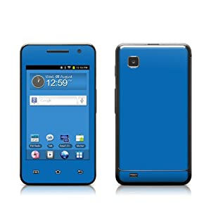 Solid State Blue Design Protective Decal Skin Sticker for Samsung Galaxy Player 3.6 inch Media Player YP-GS1CB