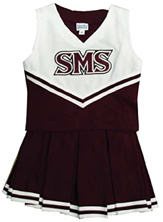 Size 20 Missouri State Bears Children's Cheerleader Outfit/Uniform - NCAA College