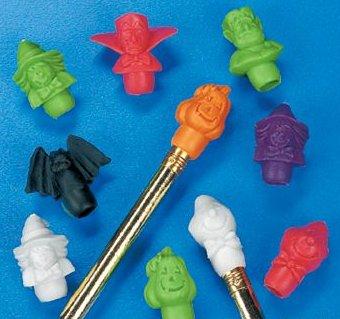 Halloween Pencil Top Erasers (12 Dozen) - Bulk front-662262