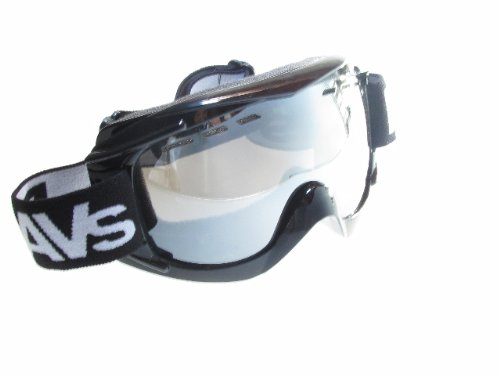 Ravs Skibrille Snowboardbrille Antifog Helmkompatibel-Silver Lens