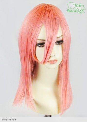 スキップウィッグ 魅せる シャープ 小顔に特化したコスプレアレンジウィッグ フェアリーミディ ピンクグレープフルーツ