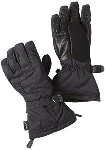 Spyder Men's Overweb Ski Glove, Black/Black, Small