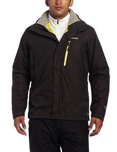 Columbia Men's Lhotse Mountain II Interchange Jacket, Buffalo, Large