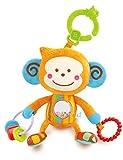 B Kids - Bebee, juguete actividades con colgador para carro (Blue Box 004660)