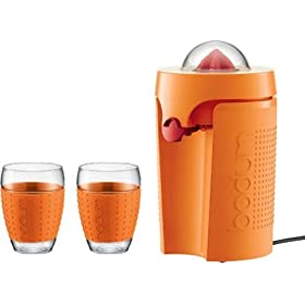 Bodum Bistro Orange Electric Citrus Juicer