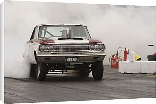 Drag Racing Tire Photo America  Print American Library