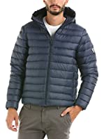 Hot Buttered Plumas Duckdownhooded120 (Azul Marino)