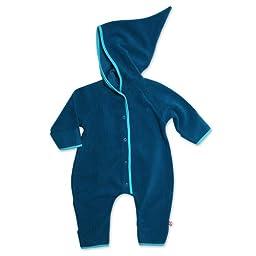 Zutano Infant Baby-Cozie Elf Romper, Pagoda, 6 Months