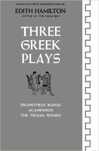 Three Greek Plays: Prometheus Bound / Agamemnon / The Trojan Women