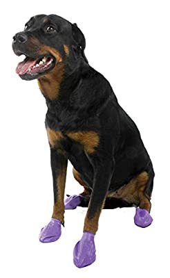 Protex Pawz Dog Boots - Purple - Large