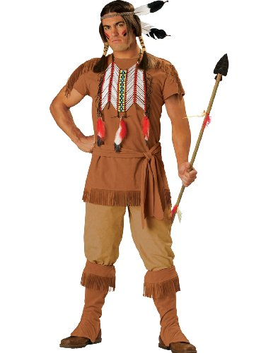 Indian Brave Mens Costume