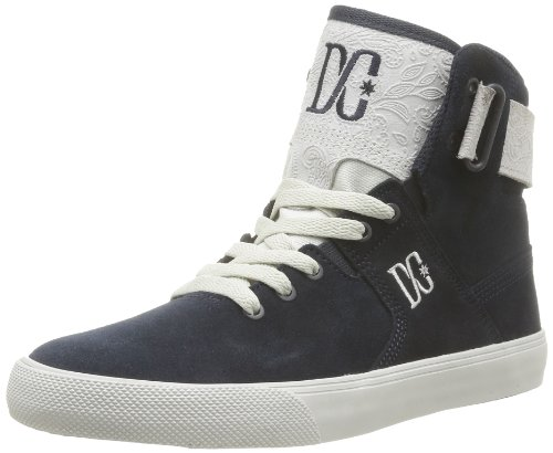 DC Womens GRADUATE LE High Top Gray Grau (NAVY/LT GREY) Size: 6.5 (40 EU)