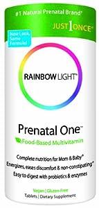 Rainbow Light Prenatal One  Multivitamin, 150-Count Bottle