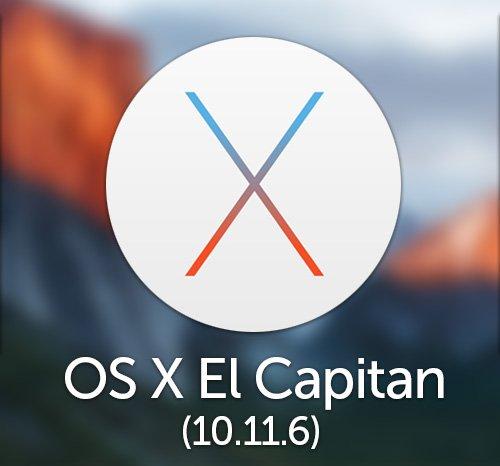 Mac OS X El Capitan 10.11.6 auf bootfähigen USB-Flash-Laufwerk für die Installation oder Upgrade