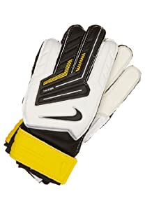 Nike Gk Jr. Grip Youth Goalkeeper Gloves Size 8 White/yellow/black
