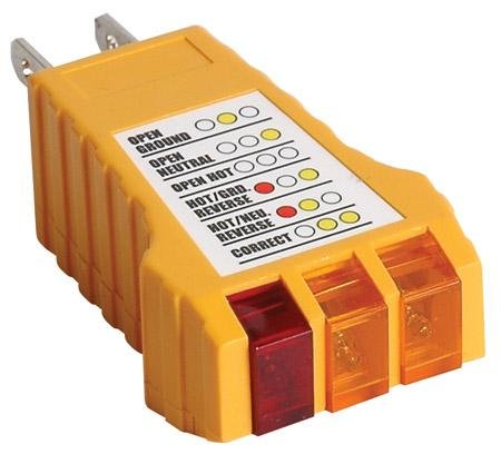Receptacle Tester With Ground