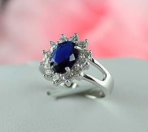 Anel Feno al Joyas Aneis Y050 18k blue diamond rings in sterling