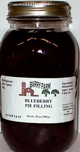 Blueberry Pie Filling, 32 fl. Oz.