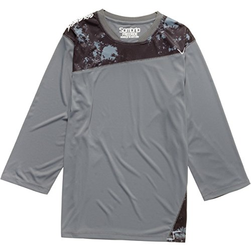 Sombrio Disciple Mountain Bike Jersey (Mineral Grey, XS)
