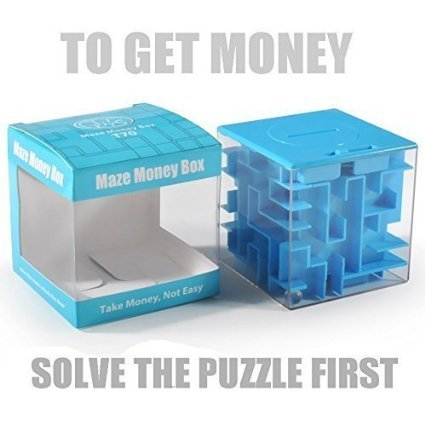 Trekbest-Money-Maze-Puzzle-Box-Amazing-Puzzle-Box-for-Kids-as-Christmas-Gift-Birthday-Gift