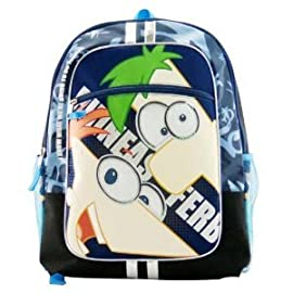 Kids' Phineas and Ferb Backpack - Blue (16