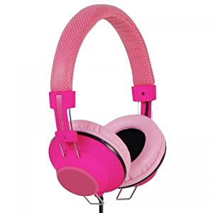 Incipio NX-101 f38 Hi-Fi Stereo Headphones - Neon Pink