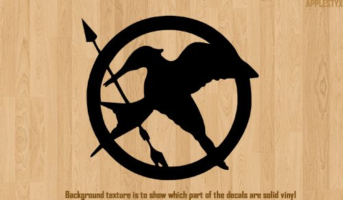 Vinyl Decal - Hunger Games Logo