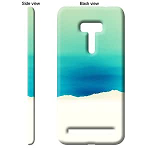 TheGiftKart Blue Paper Ripped Back Cover Case for Asus ZenFone Selfie - Multicolor