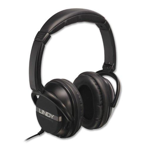 Lindy 20425 Active Noise Canceling Headphones