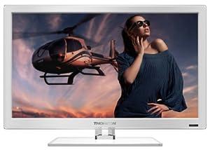Thomson 24FW4323W/G 61 cm (24 Zoll) Fernseher (Full HD, Twin Tuner)