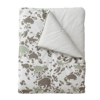 DwellStudio Play Blanket, Woodland Tumble Mocha (Discontinued by Manufacturer)