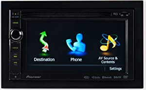 "Pioneer AVIC-X930BT 6.1"" In-Dash Navigation AV Receiver with iPod/iPhone Control, Bluetooth, Pandora"