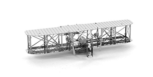 Fascinations Metal Earth Wright Brothers Airplane 3D Metal Model Kit (Wright Brothers Model Airplane compare prices)