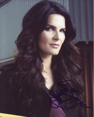 ANGIE HARMON signed *RIZZOLI & ISLES* 8X10 PROOF COA D - Signed Photographs