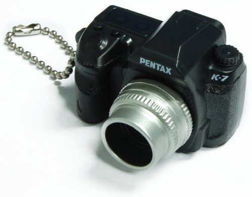 Buy  Pentax Capsule Mini Camera Keychain K-7 Black Camera
