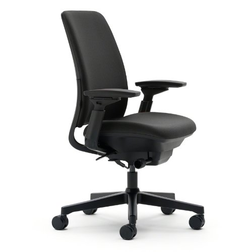 Steelcase amia chair in fabric industrial supply - Steelcase leap ergonomic office chair ...