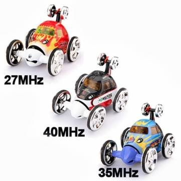 360 Degree Spin Spins RC Remote Radio Control Wheelie Stunt Car (Blue 35 MHZ) by Completestore