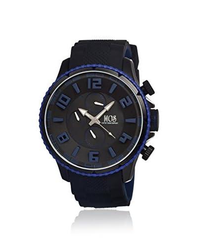 Mos Men's MOSBC105 Barcelona Black Silicone Watch