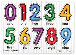 WMU - See-Inside Numbers Peg Puzzle
