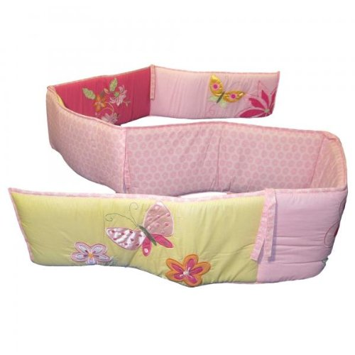 Kidsline Tiger Lily Crib Bedding Collection - Crib Bumper - 1