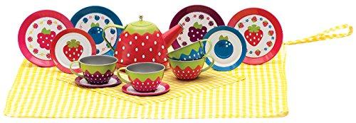 Schylling Very Berry Tin Tea Set