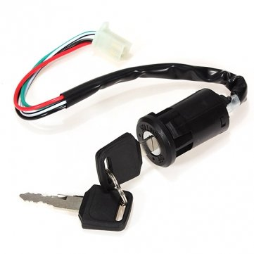 Ignition Key Switch for ATV Scooter Dirt Bike 90 110 125 200cc