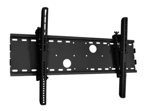 "Black Adjustable Tilt/Tilting Wall Mount Bracket For Insignia Ns-L37Q-10A 37"" Inch Led-Lcd Hdtv Tv Television"