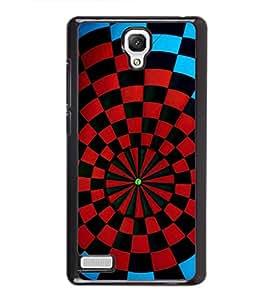 printtech Aim Board Dart Board Back Case Cover for Xiaomi Redmi Note::Xiaomi Redmi Note 4G