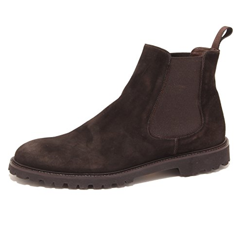 2110P beatles uomo ALTIERI suede brown marrone boot shoe men [40]