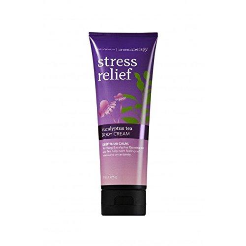 Bath & Body Works Bath & Body Works Aromatherapy Stress relief Eucalyptus Tea Cream BBW BC ASRE TEA